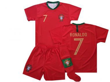 Portugal Fanshirt  Shorts & Socken trikot Ronaldo 2019 Große 140