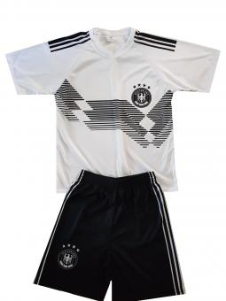 Deutschland Fanshirt trikot & shorts  set kinder 2018/19