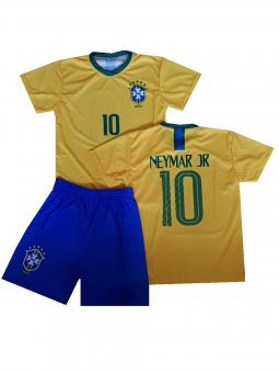 Brasilien Brasil Fanshirt & shorts Neymar Kinder & herren trikot 2018