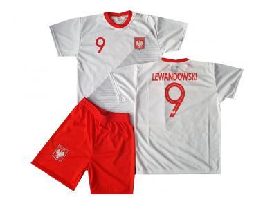 Poland Fanshirt & Shorts Lewandowski Kinder boys Mens 2019