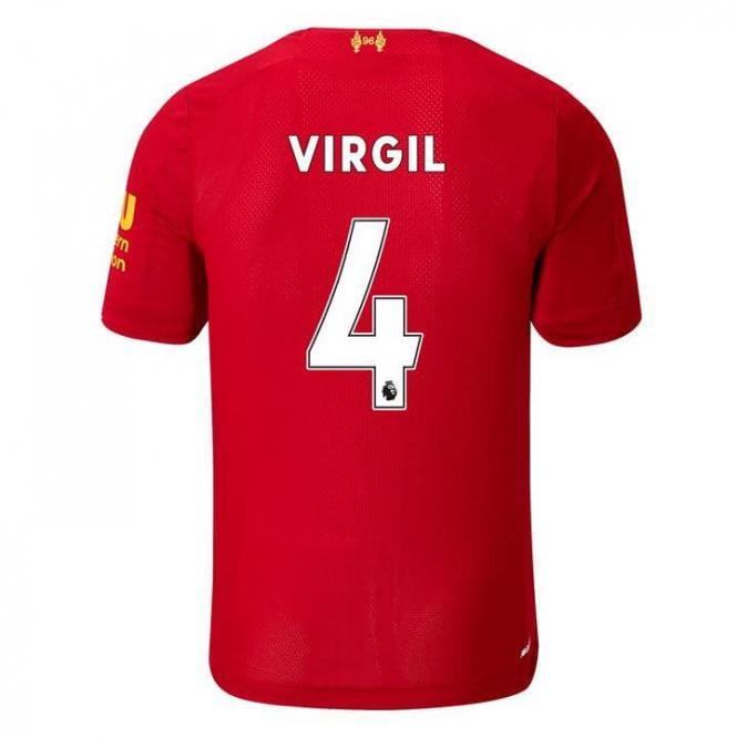 FC Liverpool Herren Home Virgil Van Dijk Trikot 2019/20