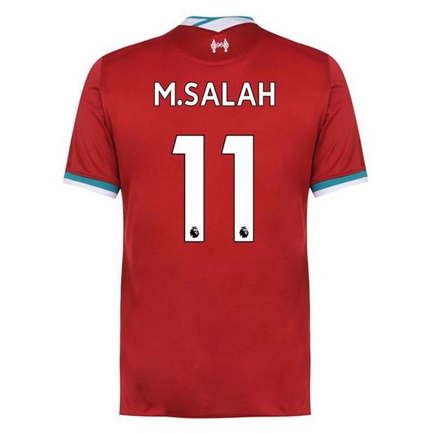 FC Liverpool Nike Herren Mohamed Salah  Trikot 2020/21