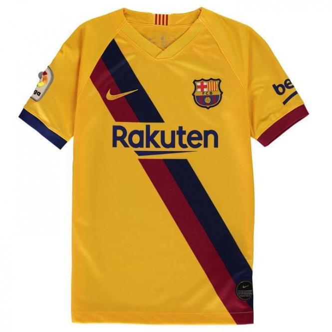 FC Barcelona away trikot Kinder 2019/20