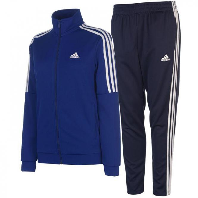 adidas Damen Trainingsanzug Jogginganzug