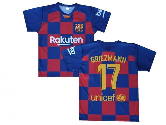 FC Barcelona Fanshirt trikot GRIEZMANN kinder boys Mens 2019/20