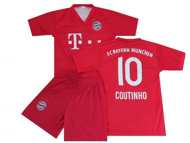 FC Bayern München Fanshirt trikot & shorts Coutinho kinder