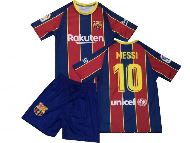 FC Barcelona Fanshirt & Shorts MESSI kinder boys trikot 2020/21 Große 116