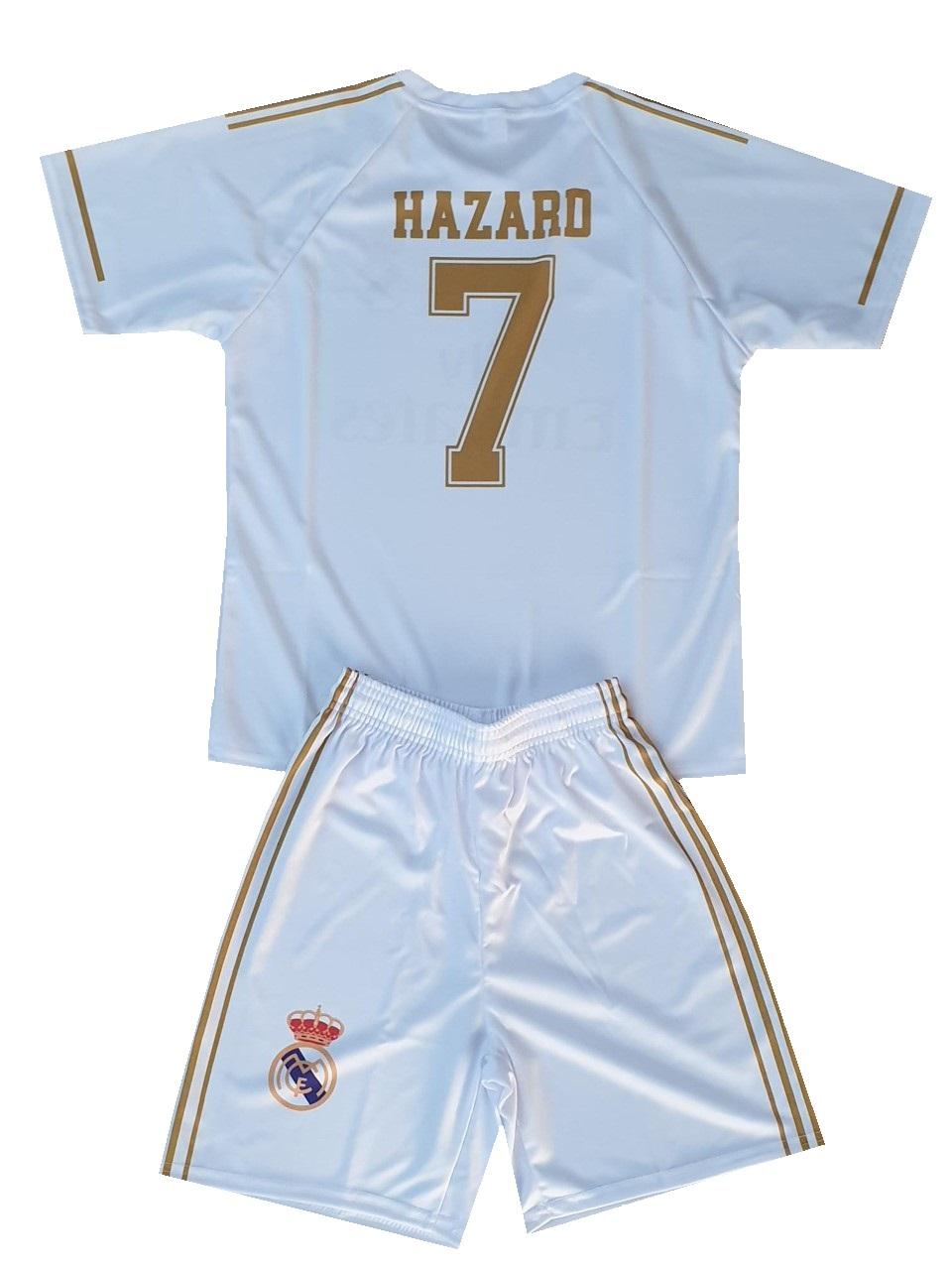 OXID eShop 4 | Real Madrid Fanshirt & Shorts HAZARD Kinder